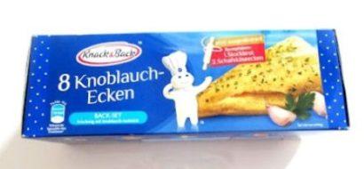 Knack und Back Knoblauch Ecken