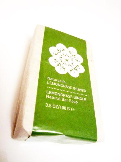Primavera Naturseife Lemongrass Ingwer, Hand- & Nagelpfegebalsam Ingwer Limette
