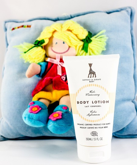 Sophi- La-Girafe-Baby-Body-Lotion