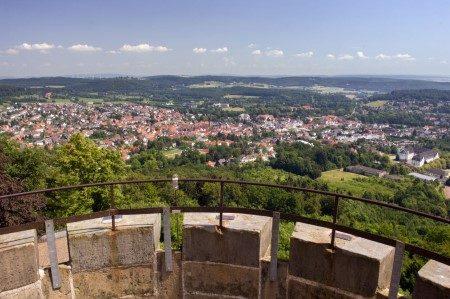 Blick-auf-Bad-Driburg-vom-Kaiser-Karls-Turm
