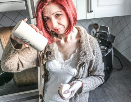 Kaffeepads-behälter