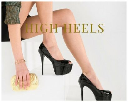 Plateau High Heels – ein Geschenk an die modebewusste Frauenwelt
