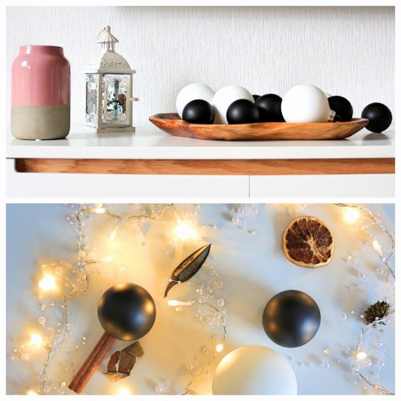 Weihnachtsdekoration mit weihnachtskugeln mal anders for Weihnachtsdeko schwarz