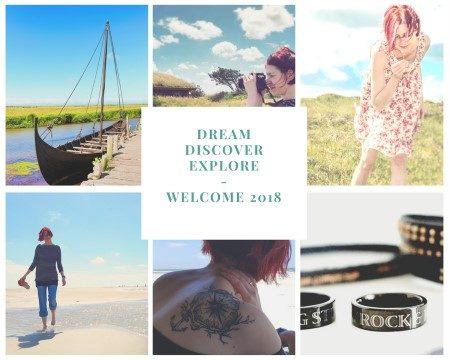 Dream- Discover- Explore – Willkommen 2018