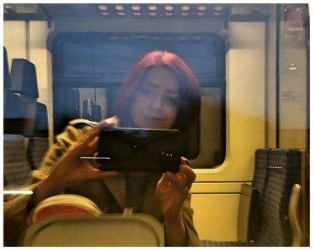 Starke Menschen – trifft man auch im Zug