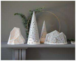 Märchenhafte Winterlandschaft mit Kähler Design