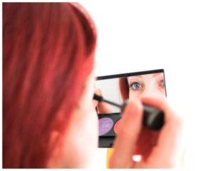 Mascara für lange und dichte Wimpern
