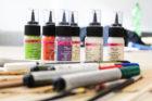 Stoffe bemalen mit Farben aus dem Onlineshop Lenzing