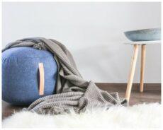 hübsch-design-pouf