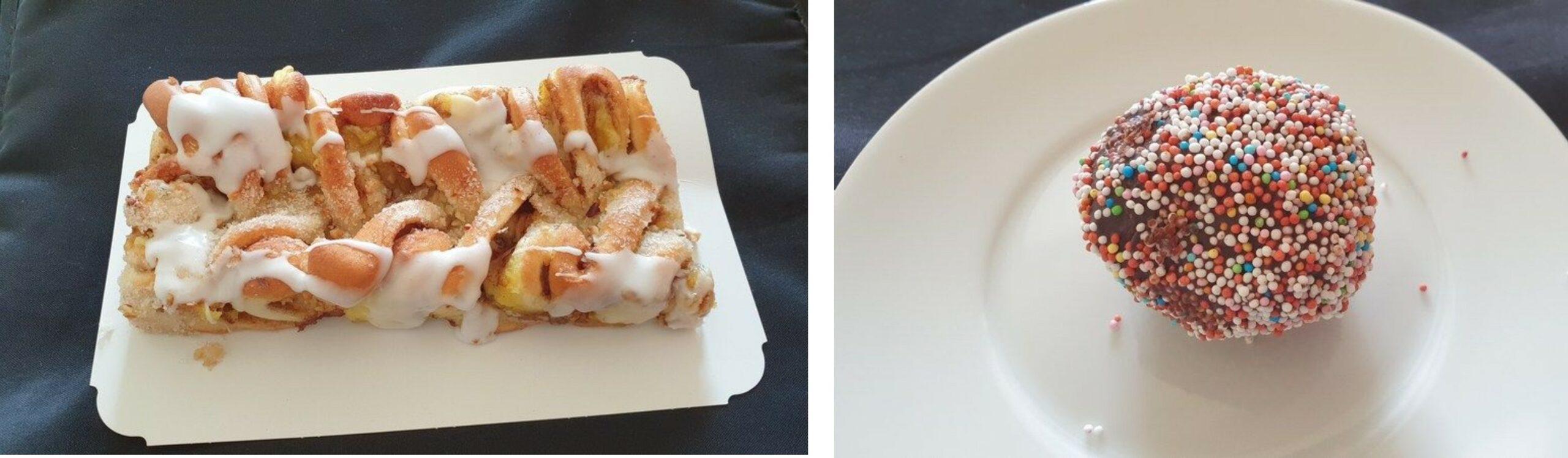 Blavand Bageri Kuchen und Rumkugeln