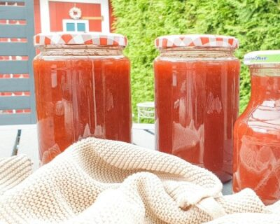 Pflaumenmarmelade Rezept, schnell und einfach selber machen